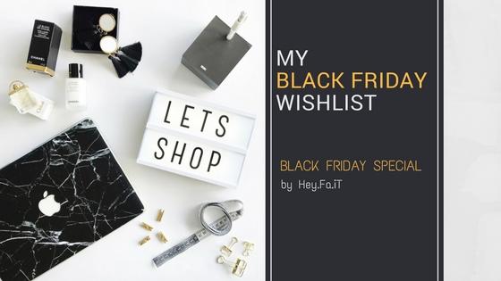 My Black Friday Wishlist