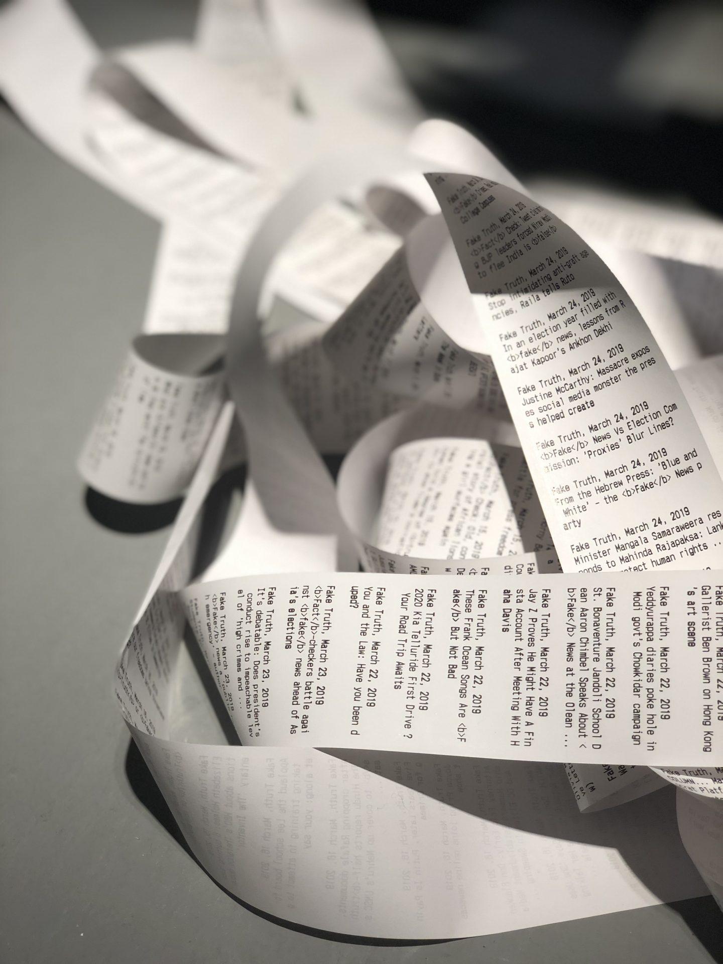 מוזיאון חיפה לאמנות תערוכה פייק ניוז צילה חסין כרמל ברנע ברזנר ג׳ונס3