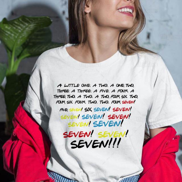 טישירט חברים friends tshirt seven monica
