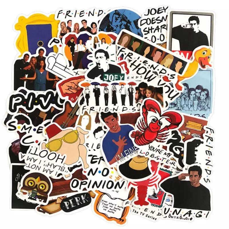 מדבקות חברים friends stickers