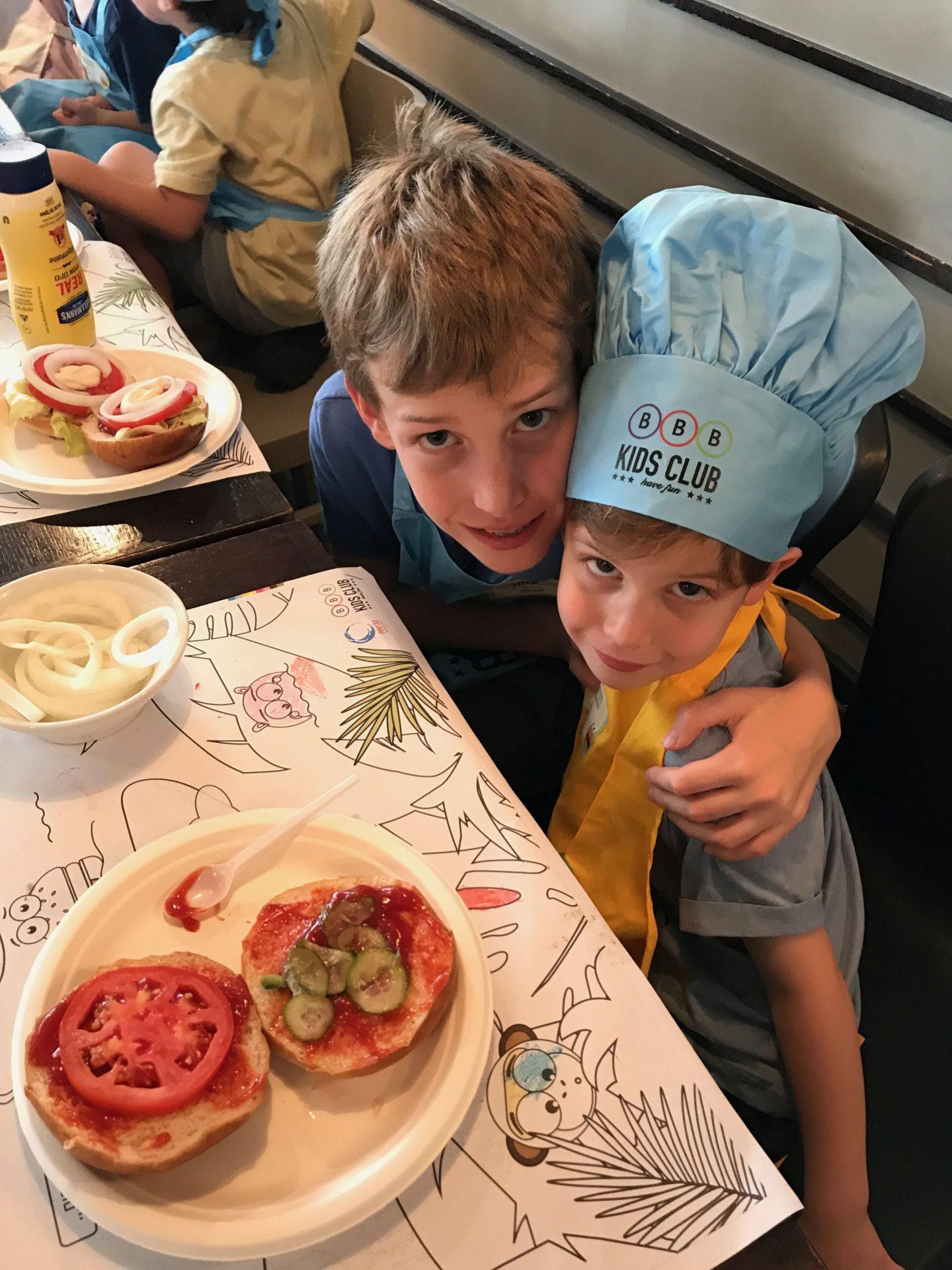 סדנת שף צעיר ברשת BBB