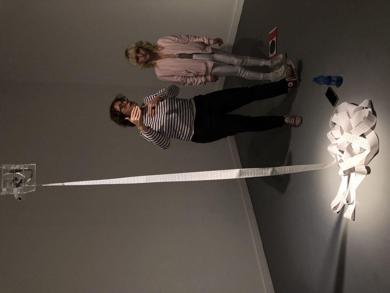 מוזיאון חיפה לאמנות תערוכה פייק ניוז צילה חסין כרמל ברנע ברזנר ג׳ונס1