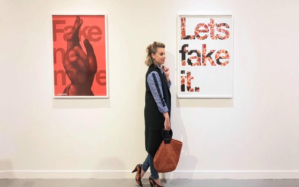 מוזיאון חיפה לאמנות תערוכה פייק ניוז שירי ויצנר צילום קרן פרגו