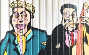 אמנות רחוב עיר תחתית חיפה