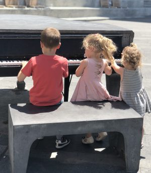 פסנתר בטון מרכז הכרמל חיפה