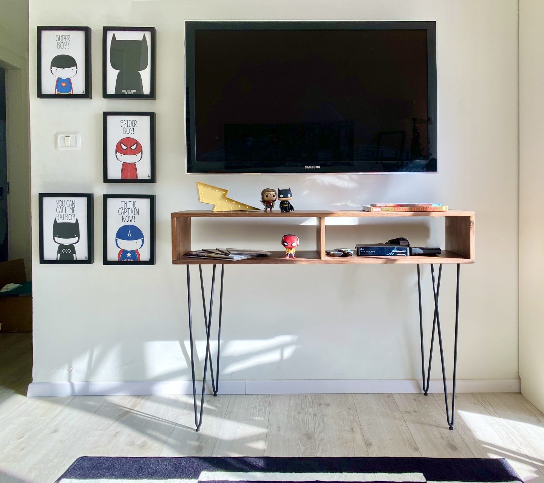 חדר גיבורי על קונסולה קואלה רהיטים שירי ויצנר בלוג חיפאית14