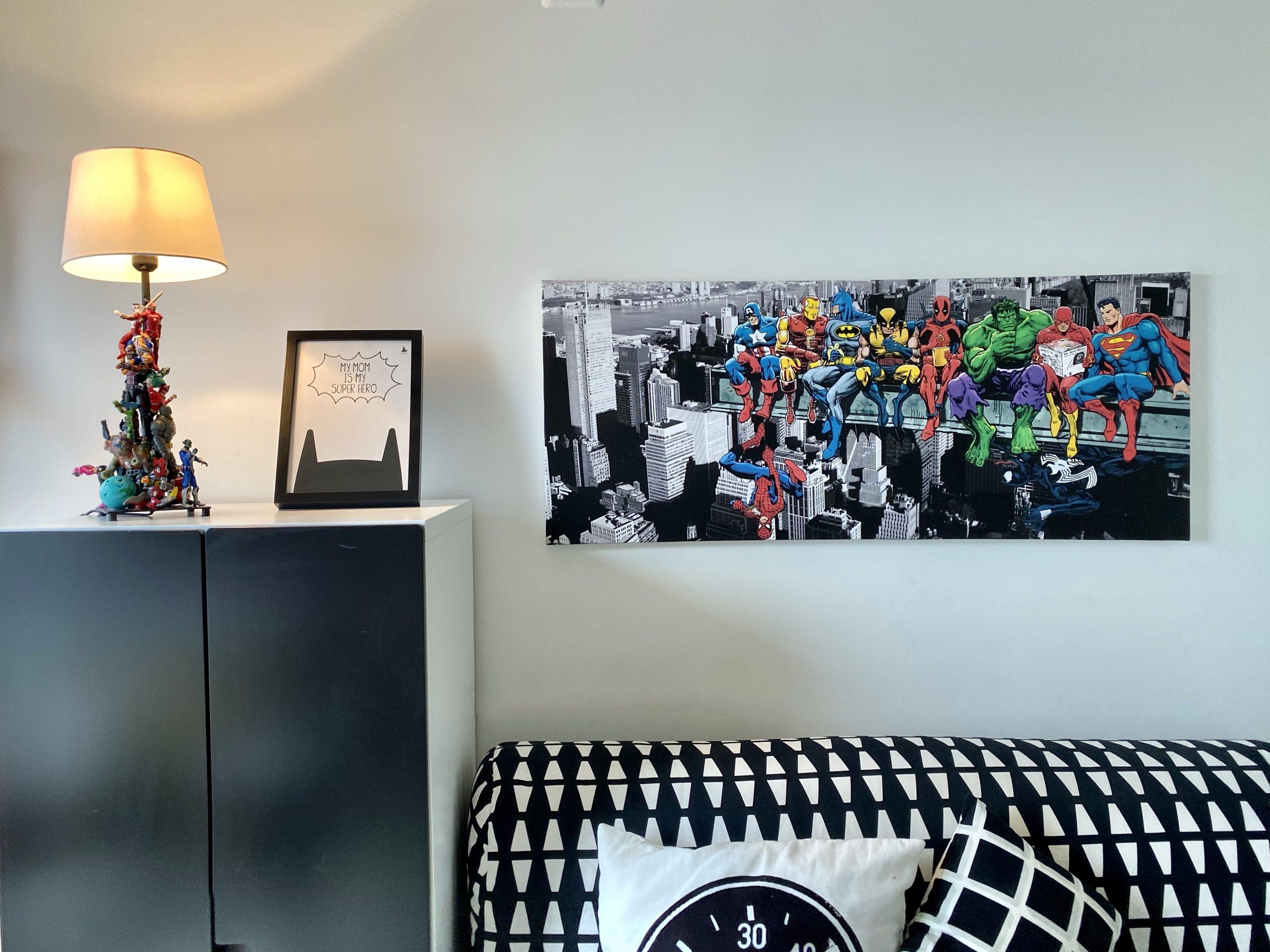 חדר גיבורי על קונסולה קואלה רהיטים שירי ויצנר בלוג חיפאית16