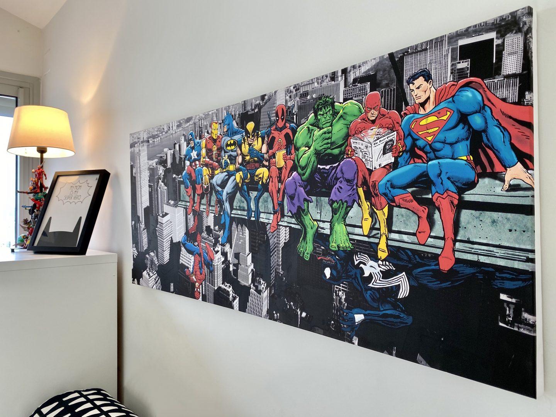 חדר גיבורי על קונסולה קואלה רהיטים שירי ויצנר בלוג חיפאית17