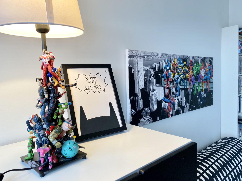 חדר גיבורי על קונסולה קואלה רהיטים שירי ויצנר בלוג חיפאית24
