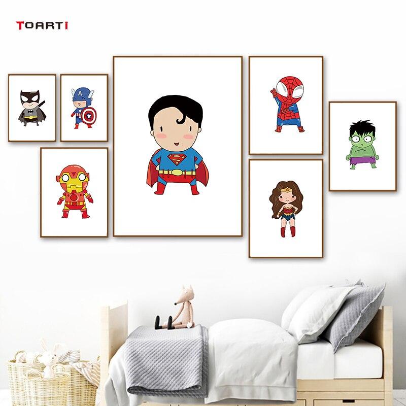 פוסטרים גיבורי על פוסטרים לחדר ילדים