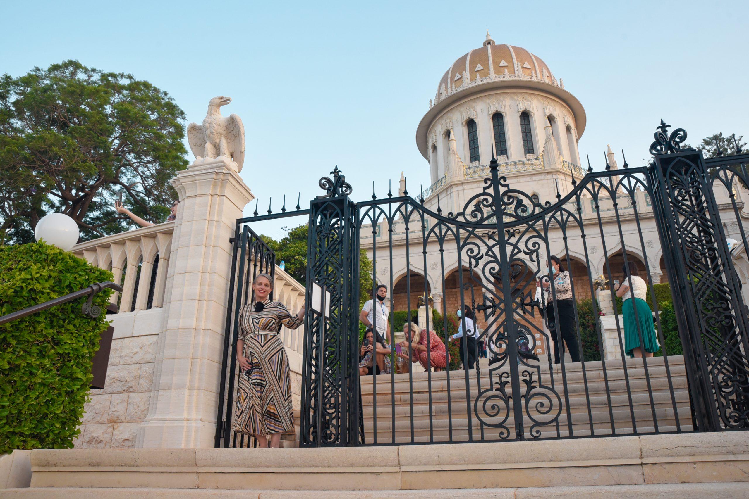 הגנים הבאהיים חיפה חופשה בחיפה שירי ויצנר בלוג חיפאית