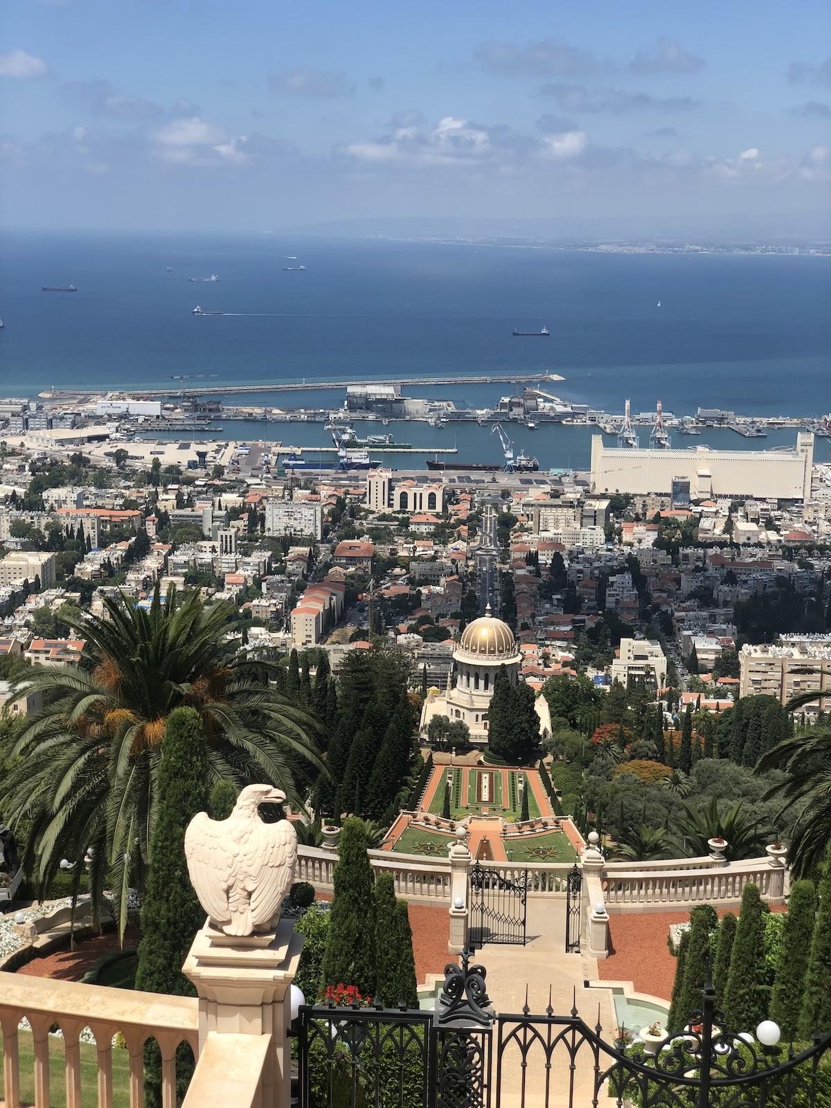 טיול רומנטי טיילת לואי יפה נוף חיפה שירי ויצנר בלוג חיפאית 2