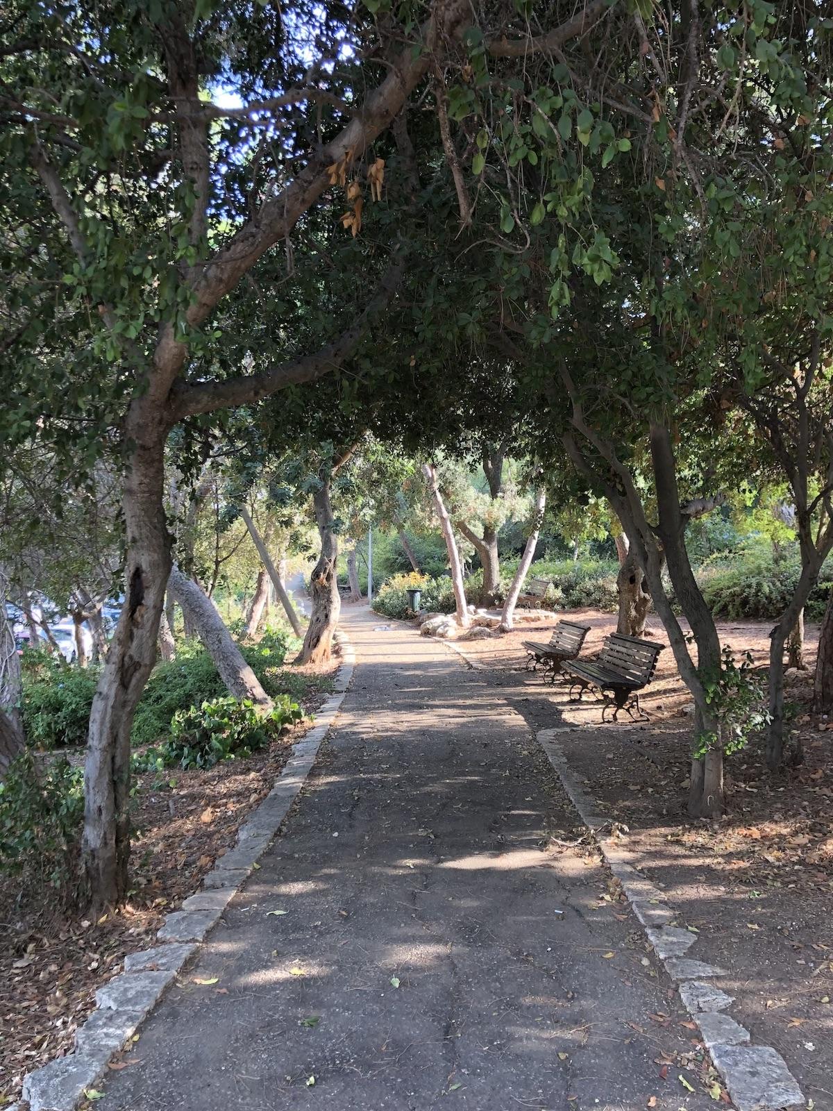 טיול רומנטי טיילת לואי יפה נוף חיפה שירי ויצנר בלוג חיפאית 4