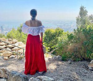 טיול רומנטי בחיפה טיילת לואי חיפה יפה נוף שירי ויצנר