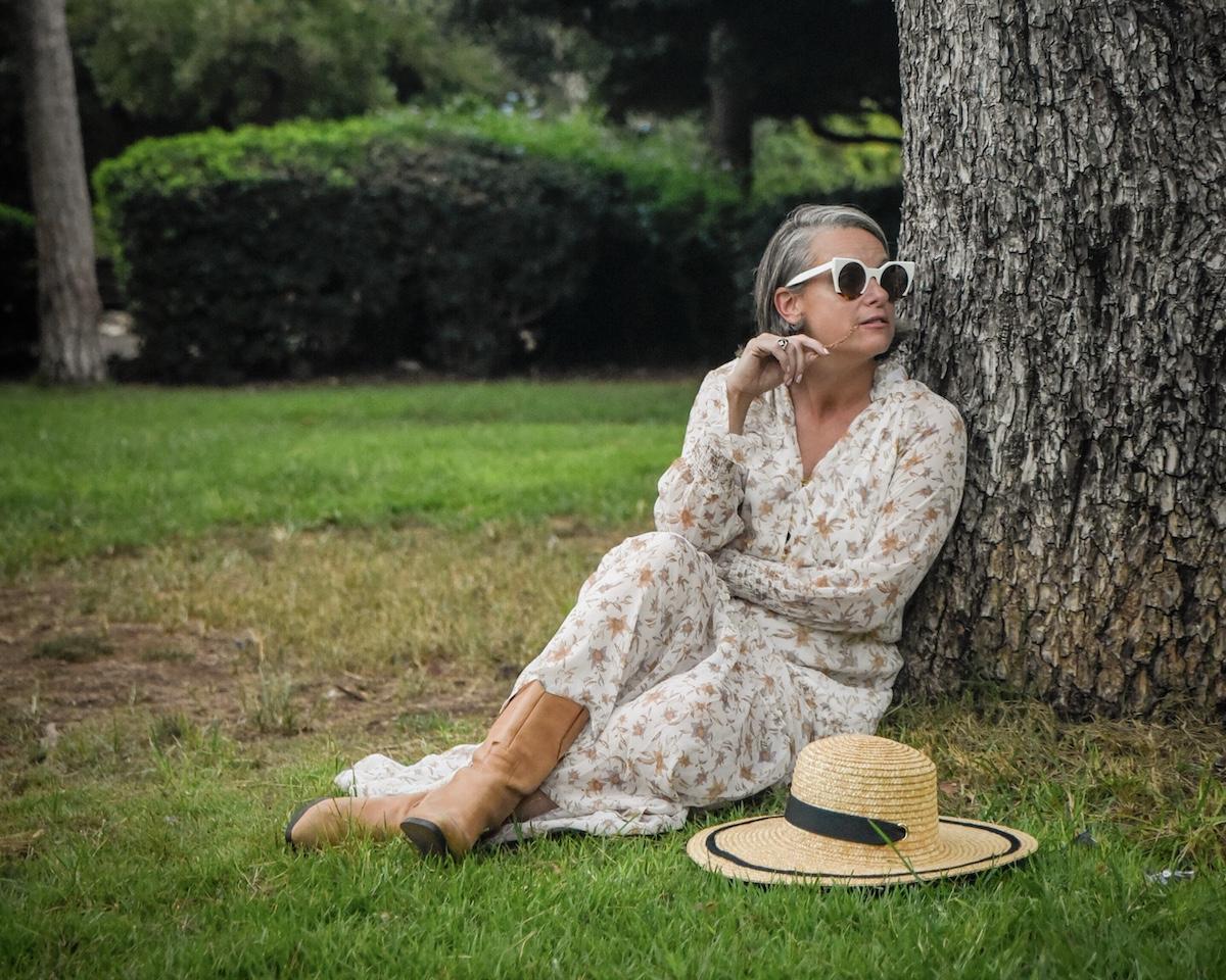 גן מניה שוחט שמלת מקסי פרחונית גולף שירי ויצנר בלוג חיפאית2