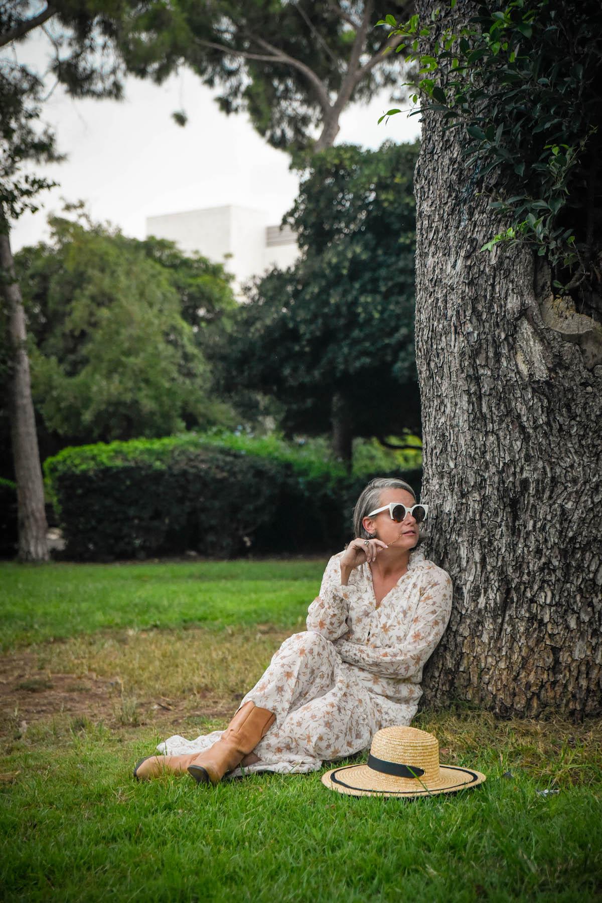 גן מניה שוחט שמלת מקסי פרחונית גולף שירי ויצנר בלוג חיפאית3