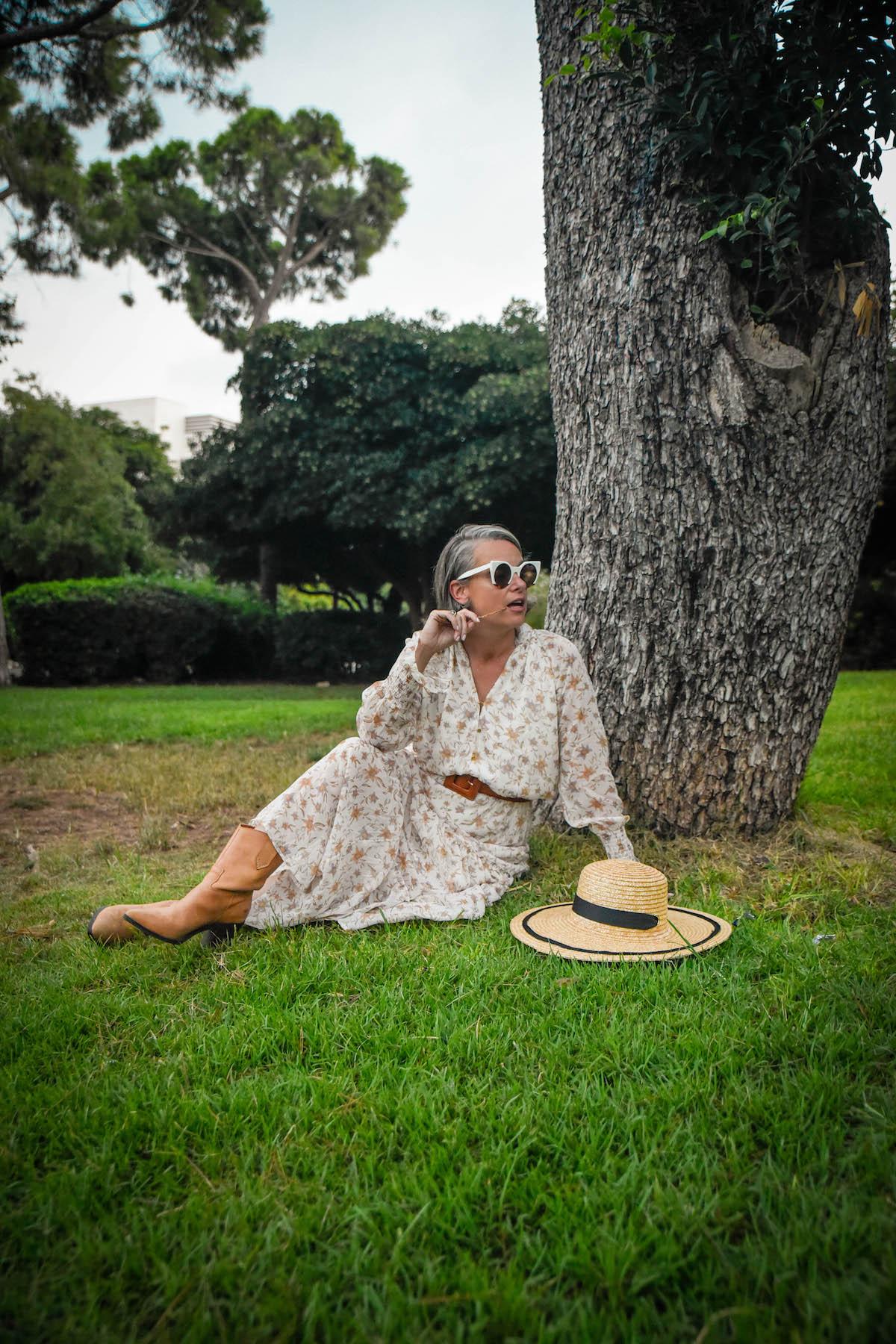 גן מניה שוחט שמלת מקסי פרחונית גולף שירי ויצנר בלוג חיפאית4