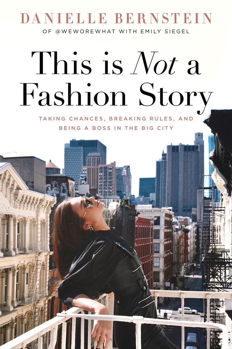דניאל ברנסטין this is not a fashion story