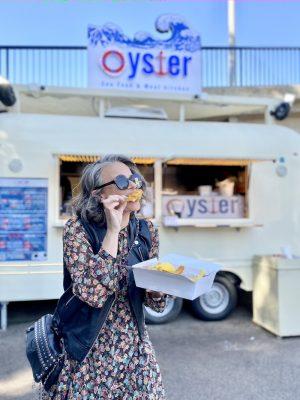 אוייסטר משאית אוכל חיפה שירי ויצנר