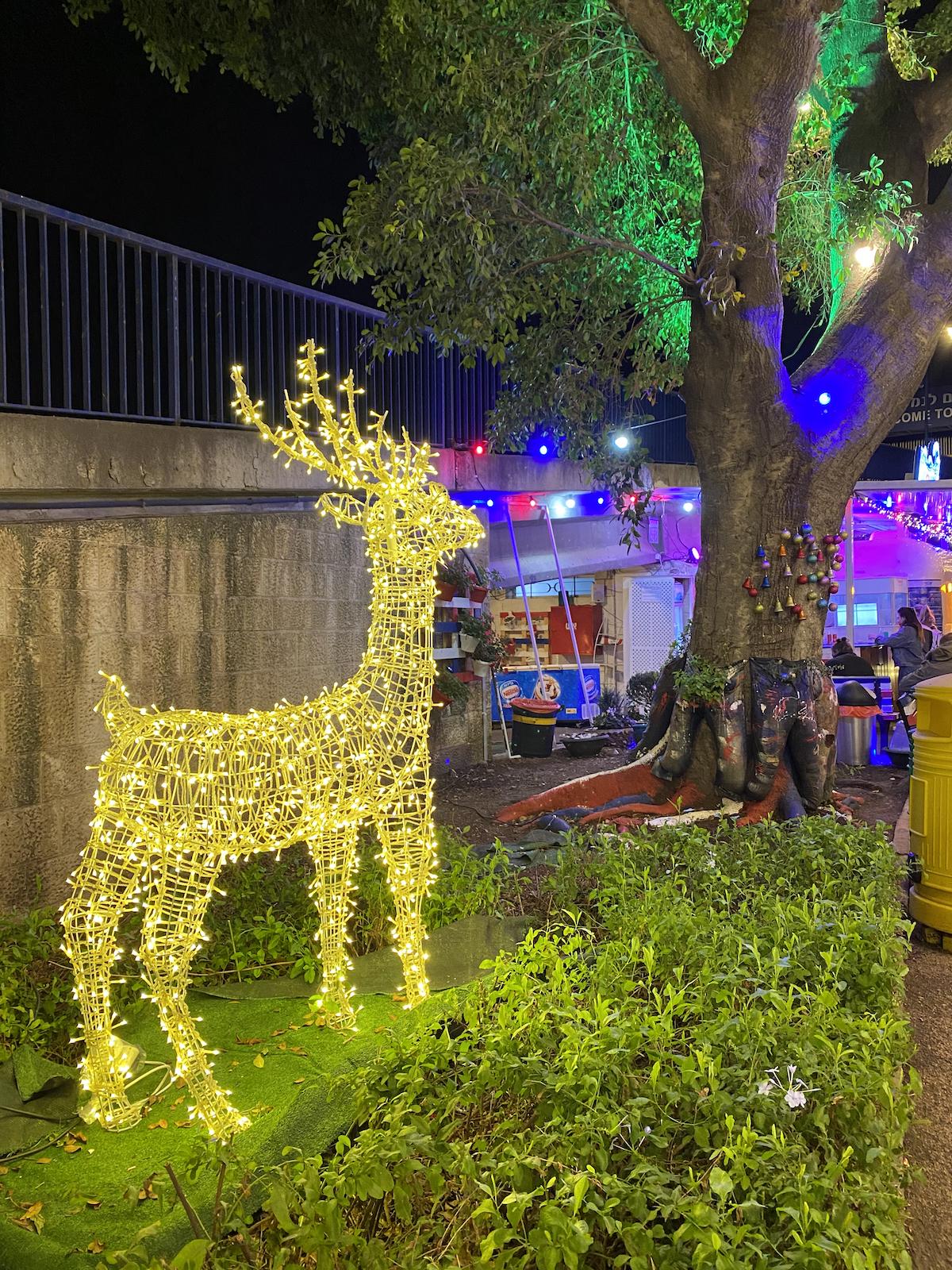 החג של החגים כריסמס בחיפה פודטראק