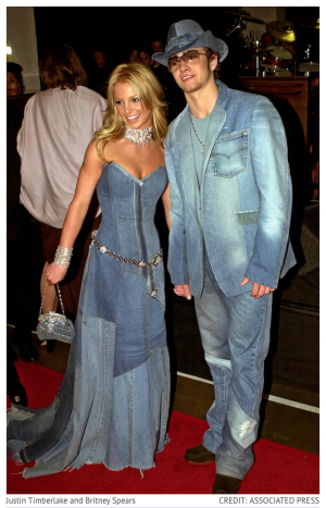 britney spears and justin timberlake denim