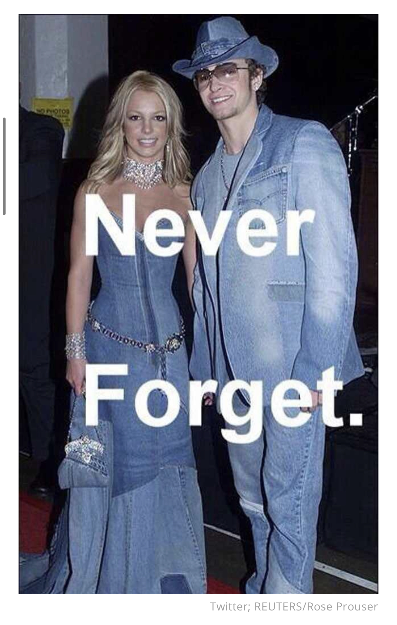 britney spears and justin timberlake from mylie cyrus twitter