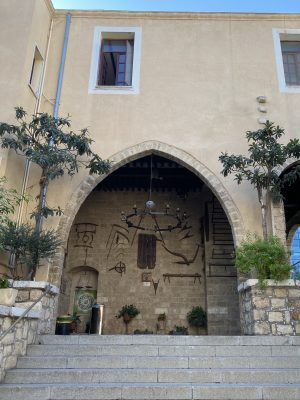 כנסיות באזור שוק הפשפשים בחיפה