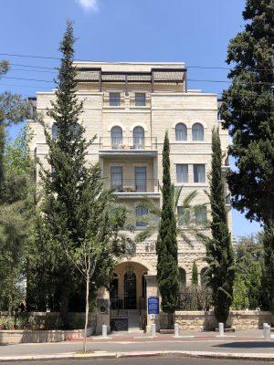 גג מלון שומאכר חיפה