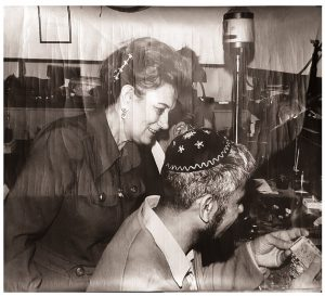 רות דיין שנות החמישים משכית