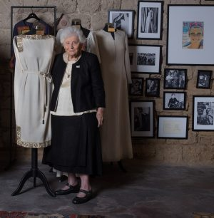 רות דיין בבית האופנה משכית המחודש צילום ברוך אפיק