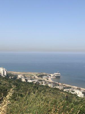 הנוף מסטלה מאריס חיפה