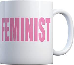 כוס עם הדפס פמניסט
