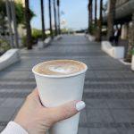 כוס קפה לקחת קפה הפוך פאלמר עיר תחתית חיפה