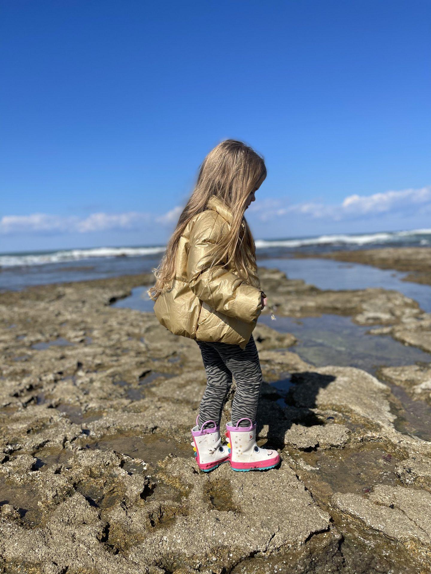טיולי משפחות בחוף שקמונה בחיפה