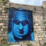 אורז ציור קיר שיבת ציון חיפה סיור אמנות רחוב