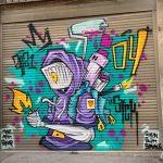 סיור אמנות רחוב ציור קיר של סיק שיבת ציון חיפה