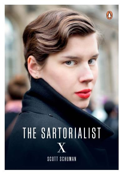 The Sartorialist X book scott schuman