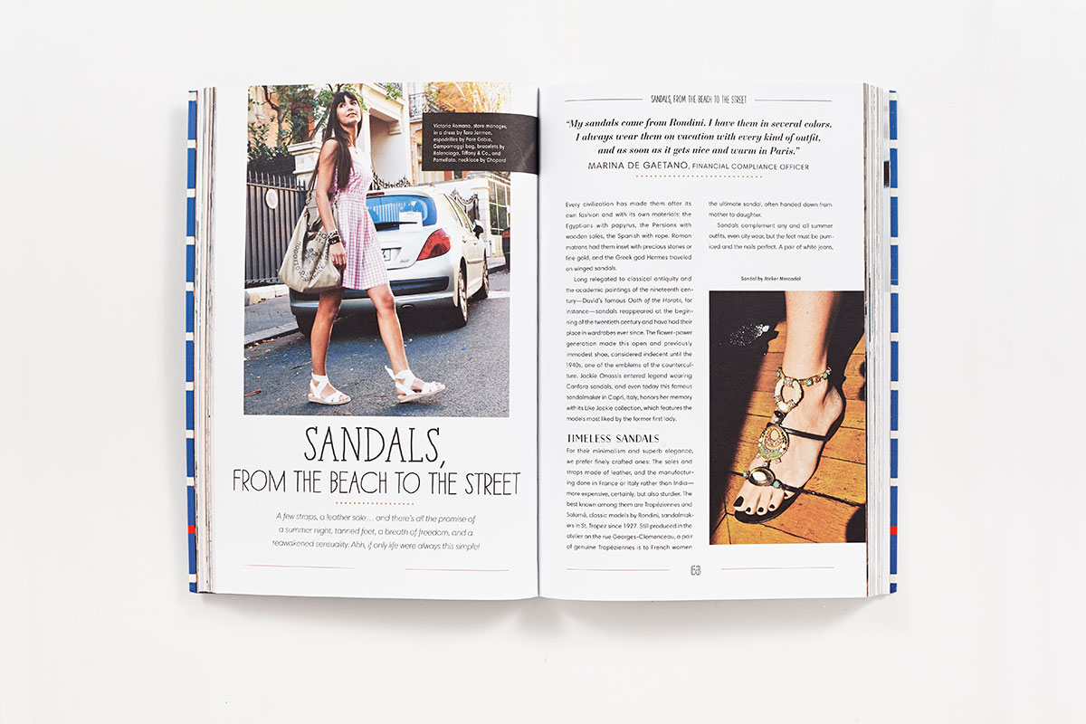 paris street style shoes book