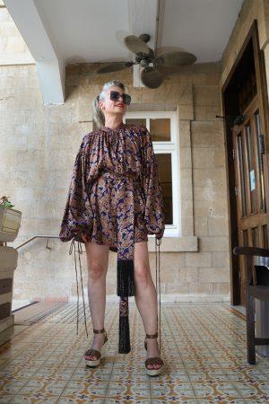 שמלה סולטנה אריאל טולדנו אתר מארק marqe