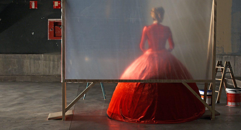 תמונת הסרט הקול האנושי פדרו אלמודובר טילדה סווינטון