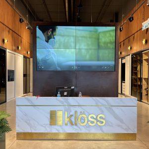 חנות קלוס ארונות הזזה במתחם העיצוב רידיזיין redesign