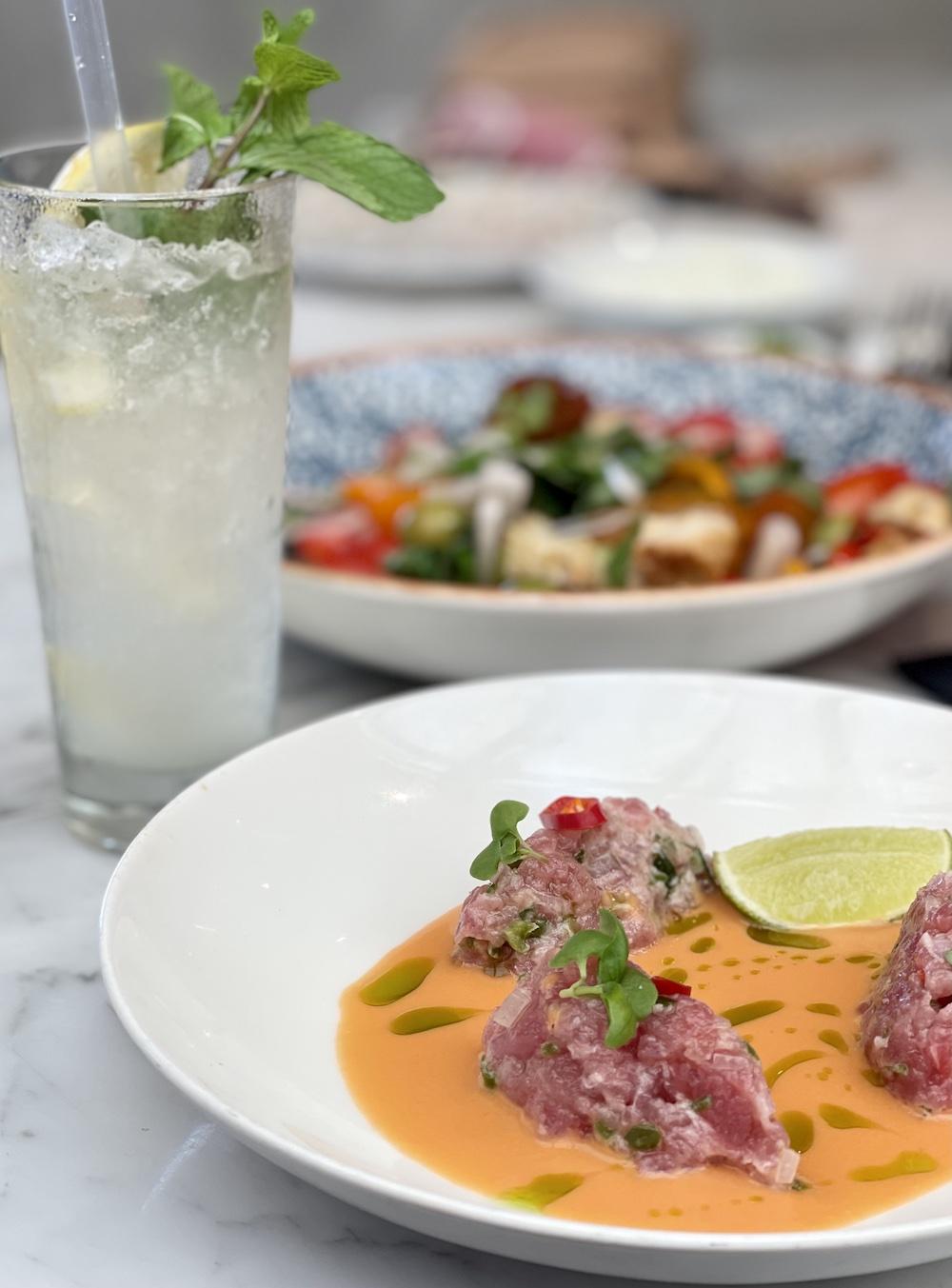 סביצ׳ה טונה מסעדת ממבו מילאנו חיפה