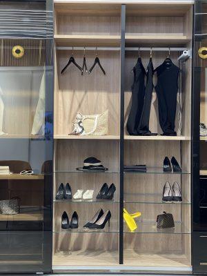 עיצוב חדר ארונות הזזה קלוס במתחם העיצוב רידיזיין redesign